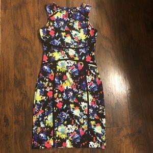 Floral dress NWOT